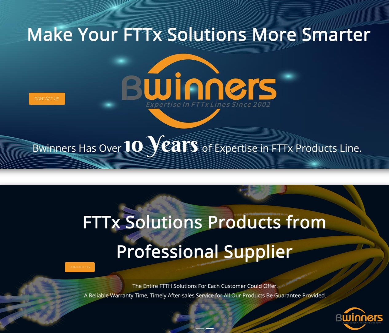 Front banners of Bwinners Website